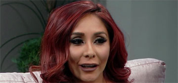 Snooki Snapchatted her 'first' Botox injections and her lip re-plumping