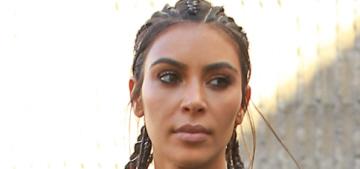 Kim Kardashian is jealous of women who only gain 25 lbs during pregnancy
