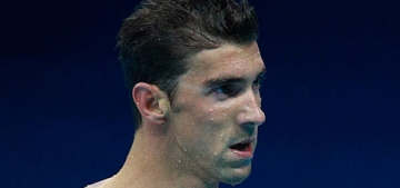 Michael Phelps deserves a gold medal in Olympic Stankface, obviously