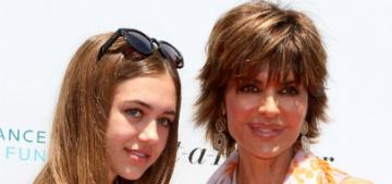 Lisa Rinna's daughter Delilah Hamlin: 'Mom didn't let me model until I was 17′
