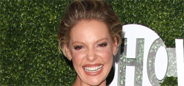Katherine Heigl responds to Seth Rogen on Stern: 'It was so long ago'