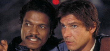 Who should play the young Lando Calrissian in the 'Han Solo spinoff' movie?