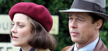 Could Brad Pitt & Marion Cotillard win any Oscars for WWII-film 'Allied'?
