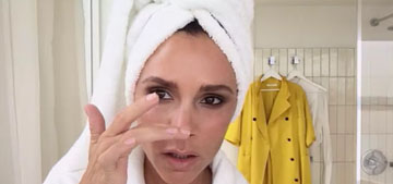 Victoria Beckham launches new makeup collection, shows off her 5-minute face
