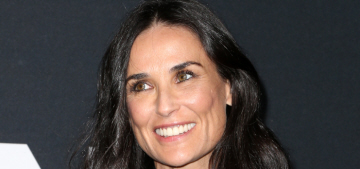 Demi Moore thinks she's too fancy for network TV, network TV scoffs at her
