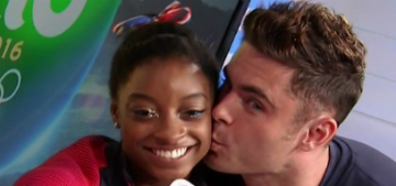 Simone Biles's 'Brazilian boyfriend' to Zac Efron: 'She is my girl'