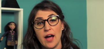 Mayim Bialik has holidays with her ex: we're 'together, that's what's important'
