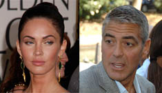 Megan Fox wants to live like George Clooney