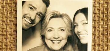 Justin Timberlake & Jessica's Clinton fundraiser raised $3.34 million