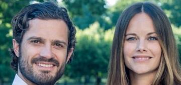 Prince Carl-Philip & Sofia post photos of baby Alexander ahead of baptism