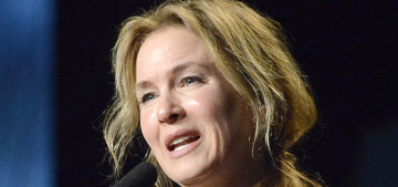 Renee Zellweger: 'We don't seem to value beauty over contribution for men'