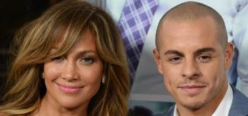 Jennifer Lopez dumped Casper Smart at some point in the past week
