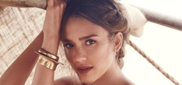 Jessica Alba doesn't identify with the '100 percent from nature' people