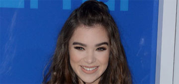 Hailee Steinfeld in macrame Balmain at the VMAs: fresh or tired?