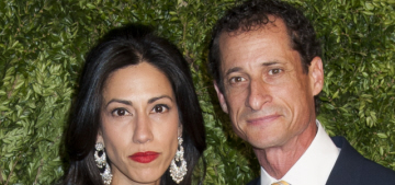 Donald Trump has some thoughts about Huma Abedin & Anthony Weiner