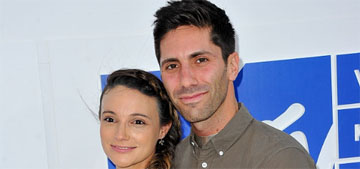 Nev Schulman's fiancee on her VMAs look: 'I like my pregnant body & felt hot'
