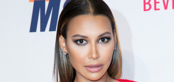 Naya Rivera bought herself breast implants as a gift for her 18th birthday