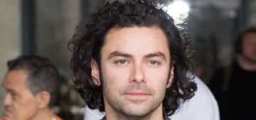 Aidan Turner on the 'rumors' he's being courted for 007: 'There's nothing in it'