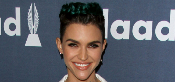 Ruby Rose tattooed the Pantone Color Chart to her back post breakup