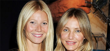 Cameron Diaz celebrated her 44th b-day in a cooking class with Gwyneth Paltrow