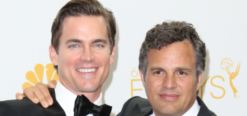Matt Bomer & Mark Ruffalo didn't react well when accused of 'transface'