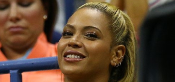 Beyonce & Jay-Z came out to support Serena Williams at the US Open