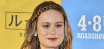 Brie Larson is sorry for posting throwback photo of captive dolphins