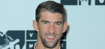 Michael Phelps changes diapers: It can be 'disgusting but I've gotten the hang'