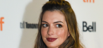 Anne Hathaway in Rodarte at the TIFF 'Colossal' premiere: strange or cute?