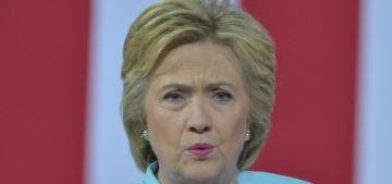 Hillary Clinton nearly faints at 9/11 service, apparently has pneumonia