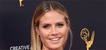 Heidi Klum in Roland Mouret at the Creative Arts Emmys: glam or boring?