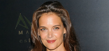 Katie Holmes shares adorable photos of Suri from her mom's party