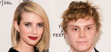 Emma Roberts and Evan Peters are a couple again: third time's the charm?
