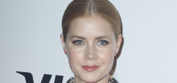 Amy Adams' TIFF style features Tom Ford, chunky necklaces: cute?