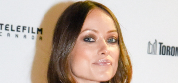 Olivia Wilde complains of subway riders who won't give their seat 'to a giant preggo'