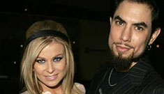 Dave Navarro and Carmen Electra may be on the outs