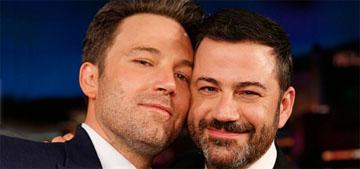 Jimmy Kimmel: The I'm f'ing Ben Affleck video was Jennifer Garner's idea