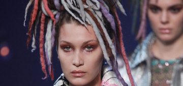 Marc Jacobs' NYFW show featured a lot of bland white models in dreadlocks