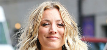 Kaley Cuoco gushes about her bf: 'It was meant to be, I wear my heart on my sleeve'