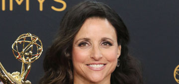 Julia Louis-Dreyfus won 5th consecutive Emmy, thanked her dad, who passed Friday