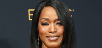 Angela Bassett in Christian Siriano at the Emmys: stunning in chartreuse?