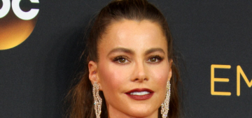 Sofia Vergara in Versace at the Emmys: boring, classic or poorly styled?
