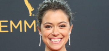 Tatiana Maslany finally wins in Alexander Wang at the Emmys: adorable or meh?