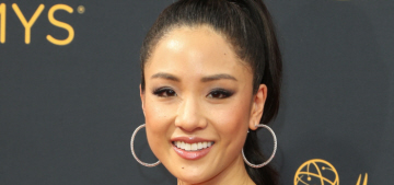 Constance Wu in J. Mendel at the Emmys: one of the cutest looks of the night?