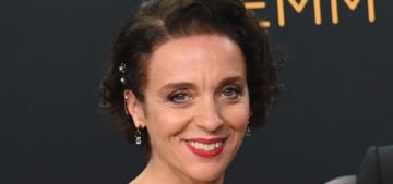 Amanda Abbington: 'Some bastard nicked my purse' at the Emmys