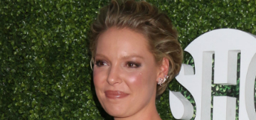 Katherine Heigl on working out: 'now that I'm [pregnant] it's ten times harder'