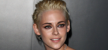 Kristen Stewart shows off her new blonde at a Chanel event: cute or meh?