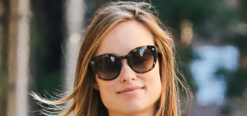 Olivia Wilde hopes her daughter will get to see a President Hillary Clinton