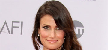 Idina Menzel is engaged to  Aaron Lohr and has a $30k engagement ring