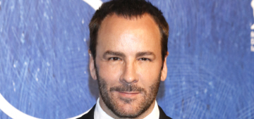 Tom Ford: 'I happen to like body hair. I think people should leave it alone'